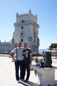 Mini e a Grnade Torre de Belém